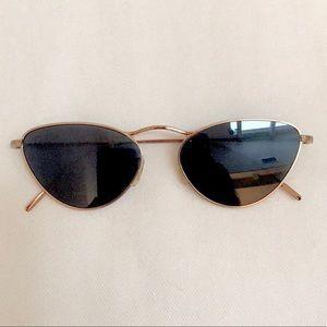 Oliver Peoples Lelaina Cat Eye RoseGold Sunglasses
